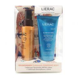 Lierac Promo Sunissime Lait Protecteur Energisant Anti-Age Global SPF30 100 ml & Lait Réparateur Anti-age Global 100 ml - Lierac