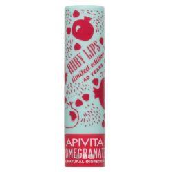 Apivita Lip Care Pomegranate Tinted - Balm Χειλιών με Ρόδι, 4.4 gr (Limited Edition) - Apivita
