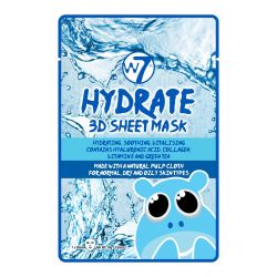 W7 Cosmetics Hydrate 3D Sheet Face Mask 10gr - W7 MakeUp