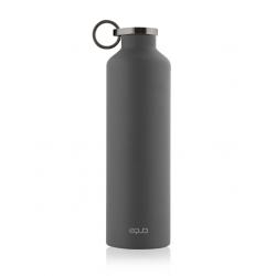 Equa Dark Grey Stainless Steel Bottle 680ml - Equa