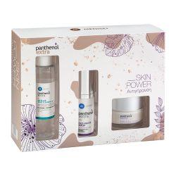 Panthenol Extra Promo Face & Eye Cream Αντιγηραντική Ημέρας 50ml & Micellar True Cleanser 100ml & Face & Eye Serum 30ml - Pan...