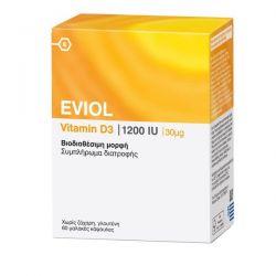 Eviol Vitamin D3 1200iu 30μg 60 μαλακές κάψουλες - Eviol