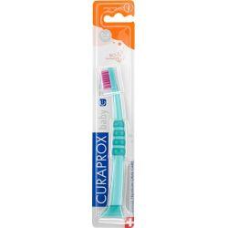 Curaprox Βρεφική Οδοντόβουρτσα 4260 σε Χρώμα Πράσινο / Φούξια για 0m+ - Curaprox