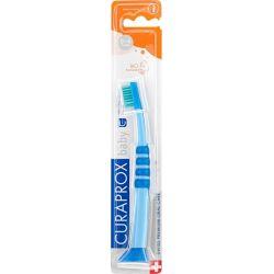 Curaprox Βρεφική Οδοντόβουρτσα 4260 σε Χρώμα Μπλε / Πράσινο για 0m+ - Curaprox