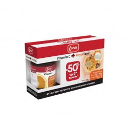 Lanes Vitamin C 1000mg 30 ταμπλέτες & Royal Tonic 10 φιαλίδια x 10ml - Lanes