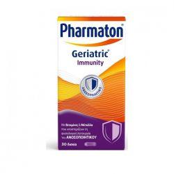 Pharmaton Geriatric Immunity Πολυβιταμίνη σε Δισκία για το Ανοσοποιητικό 30 δισκία - Boehringer Ingelheim
