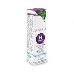 Power of Nature B Complex & Stevia Συμπλήρωμα Διατροφής Συμπλέγματος Βιταμινών B με Στέβια 20 αναβράζοντα δισκία - Power Health