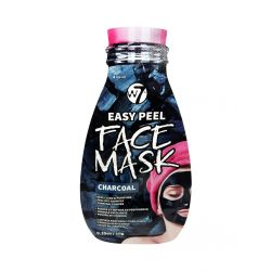 W7 Cosmetics Easy Peel Charcoal Face Mask 10gr - W7 MakeUp