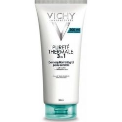 Vichy Purete Thermale, Ντεμακιγιάζ 3 σε 1, Όλοι οι Τύποι Επιδερμίδας 300ml - Vichy